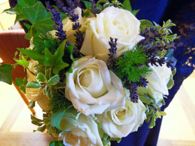 Beispiel: Brautstrauß, Foto: Blumen Eppinger.