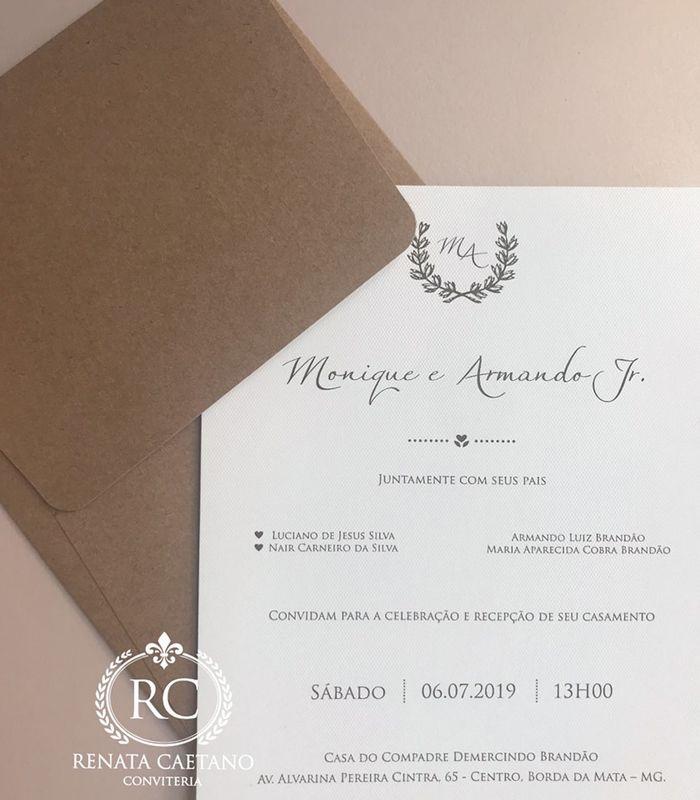 Renata Caetano Convites