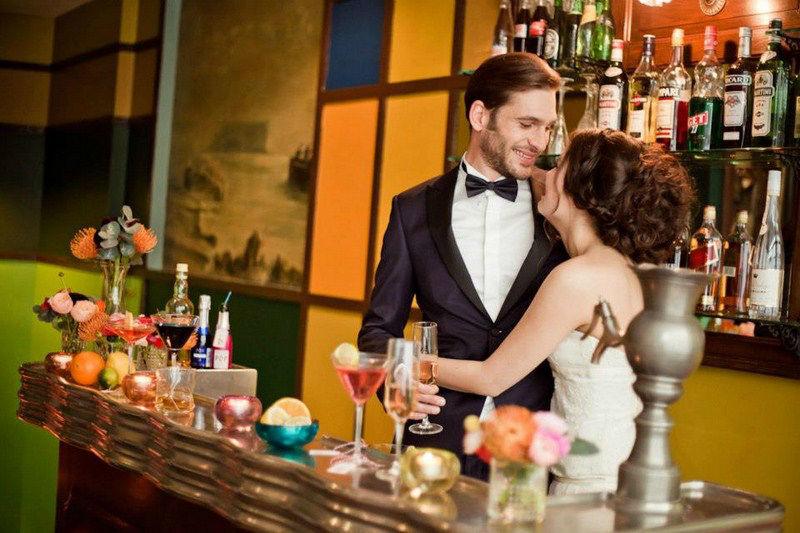 Shooting mariage dans le Marais