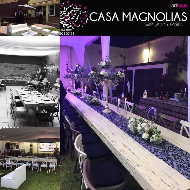 Casa Magnolias Salón y Jardín de Eventos