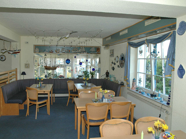 Beispiel: Restaurant, Foto: Landhotel Ostseetraum.