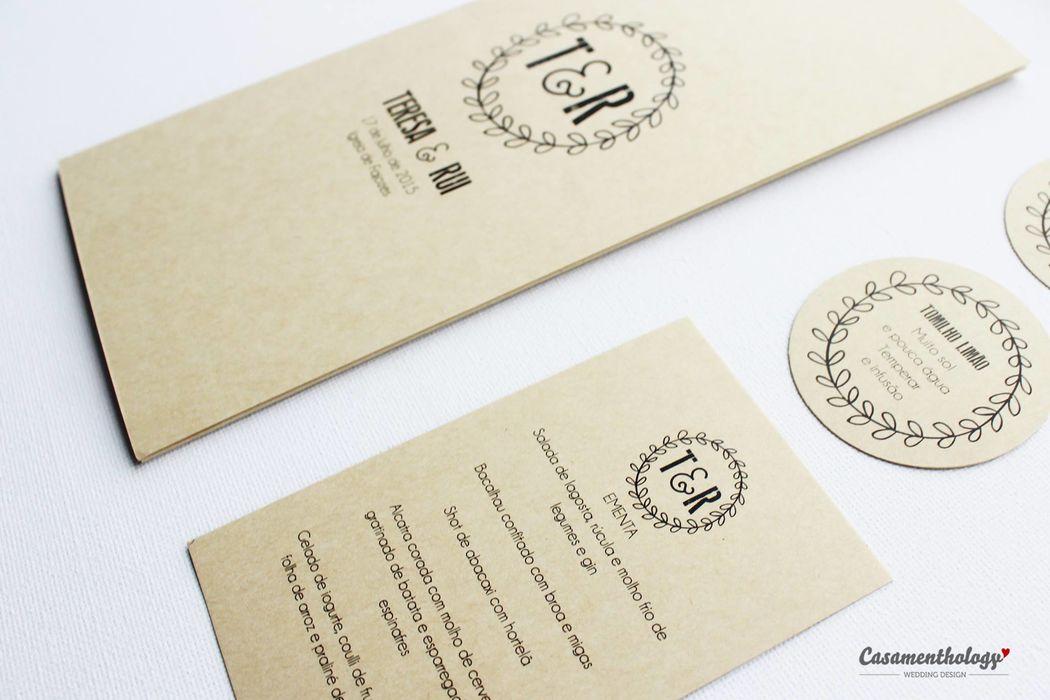 Missal, Ementa e Etiquetas