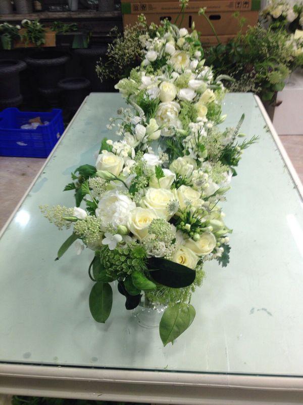 Isabelle Mantelet:  les bouquet blancs et verts