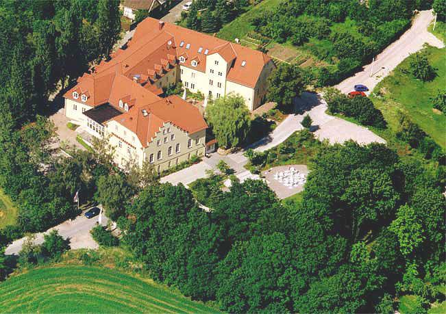 Beispiel: Luftaufnahme, Foto: Romantik Hotel Dorotheenhof.