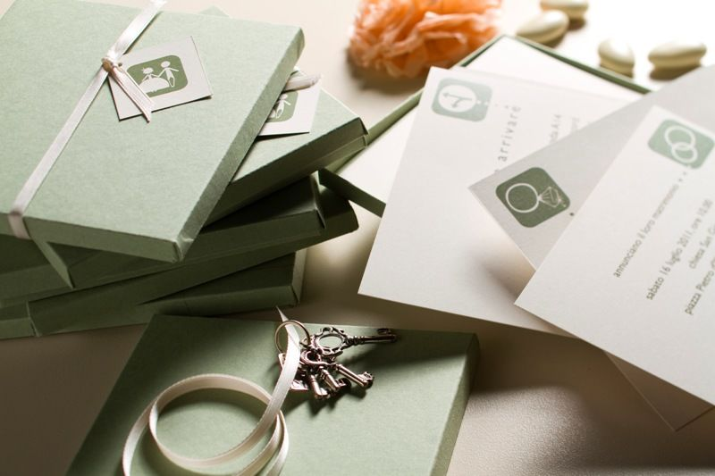 Partecipazione nozze Jou Jou