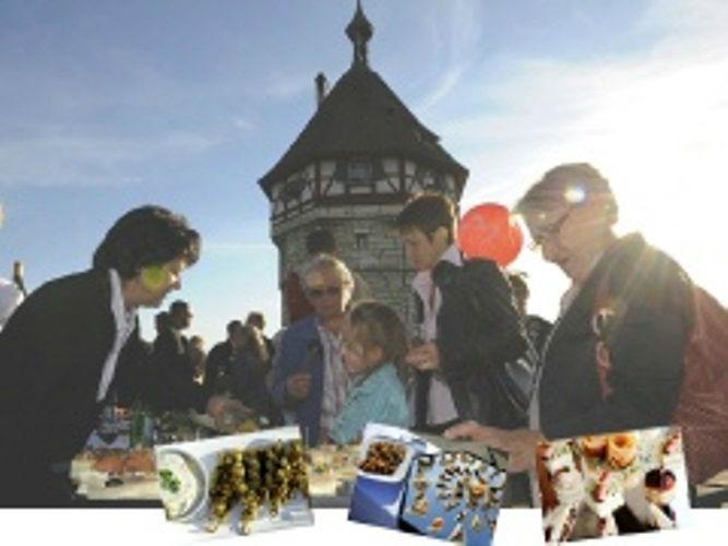 Beispiel: Buffet für Ihre Hochzeit, Foto: Hombergerhaus.