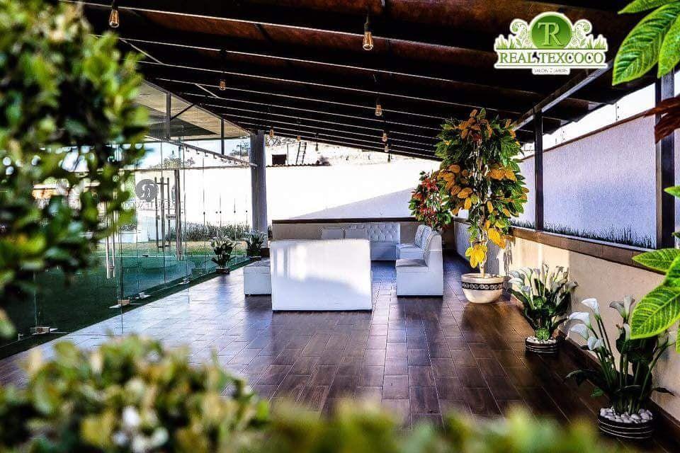 RealTexcoco Salón - Jardín