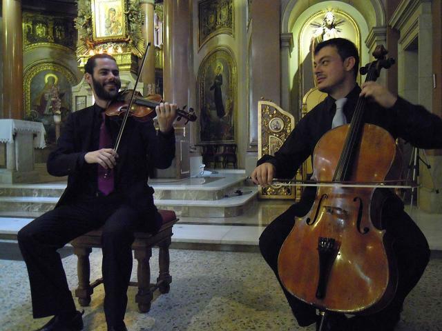 Dúo de cuerdas en boda religiosa - Tu Boda Música.
