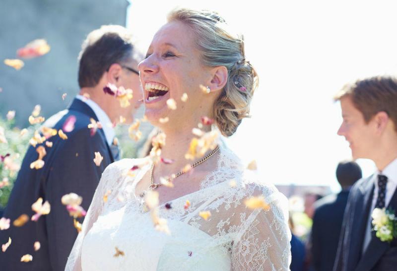 Beispiel: Portrait der Hochzeitsgäste, Foto: Katinka Stone.