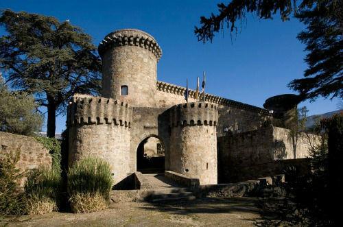Vista detalle castillo