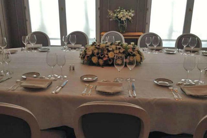 Centre de table pour une Grande Maison de Couture.