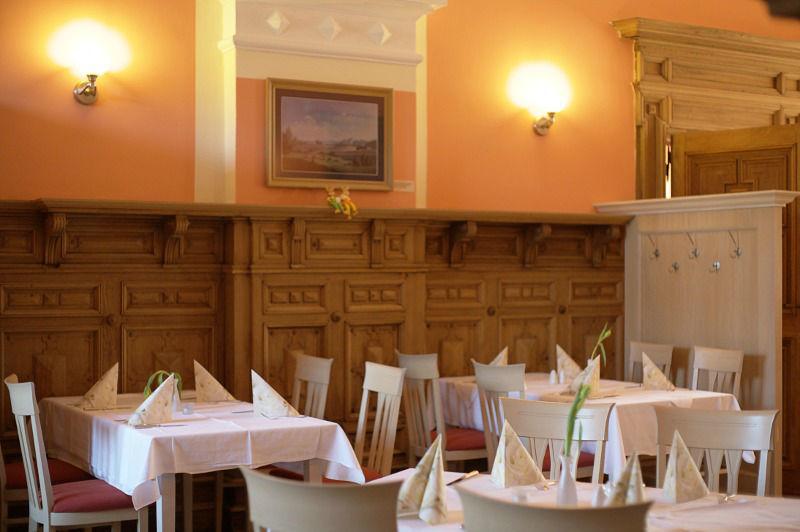 Beispiel: Impresionen vom Restaurant, Foto: Schloss Boitzenburg.