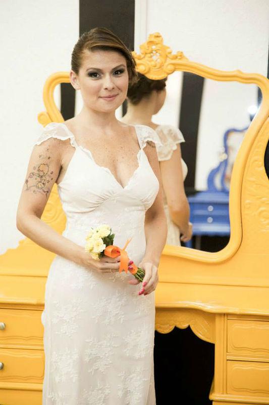 Noiva Francine Guillen