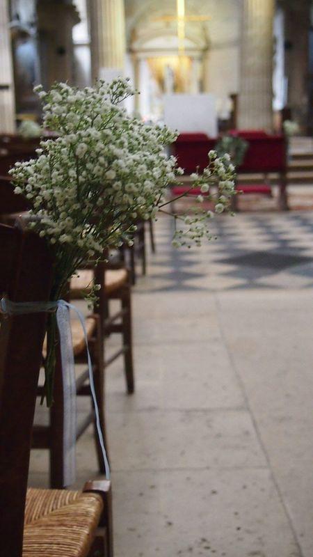 Bouquet de Banc cérémonie Des Bulles dans les Branches