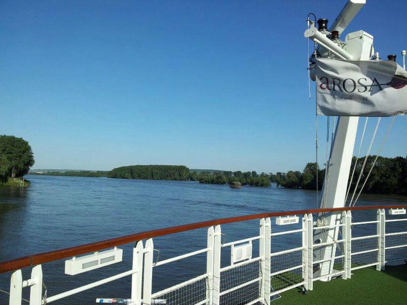 Beispiel: Auf dem Schiff, Foto: A-Rosa.