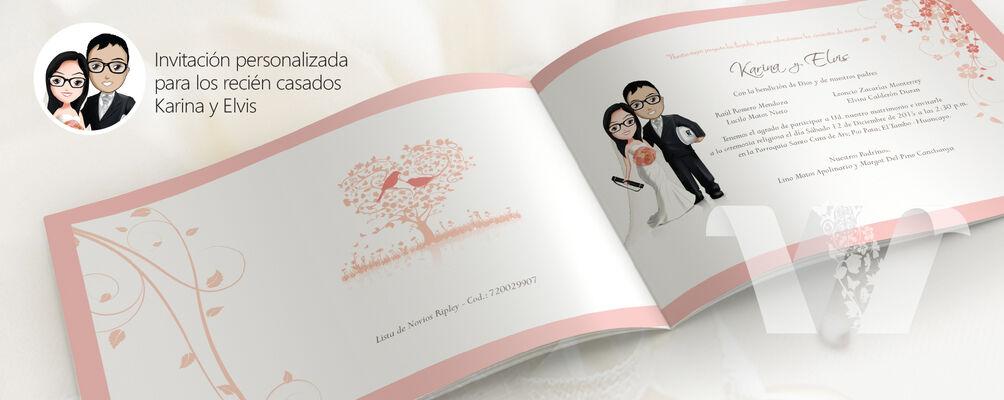Boda Karina y Elvis Parte matrimonial virtual www.dannyaldama.com