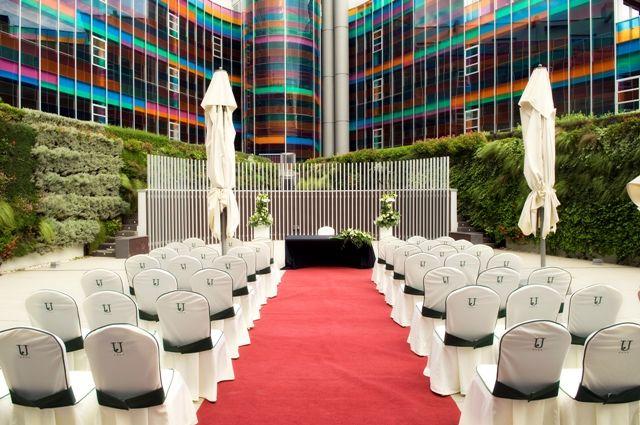 Hotel jardines de uleta suites bodas for Jardines de uleta