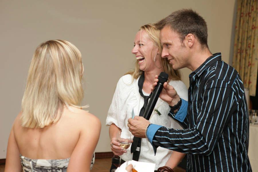 Beispiel: Spaß, Foto: Hochzeits DJ Dany.