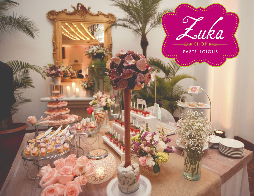 Mesa dulce - Boda Vintage Parisino