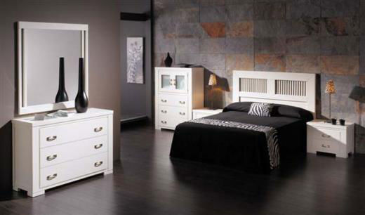 Muebles La Tinaja. Dormitorio Moderno