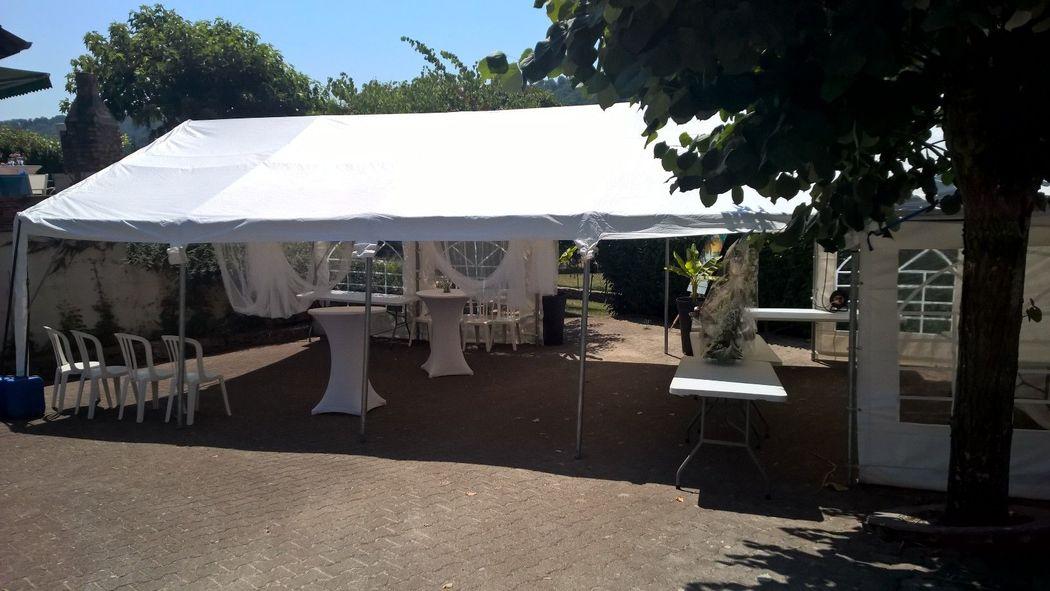 reception mariage a domicile