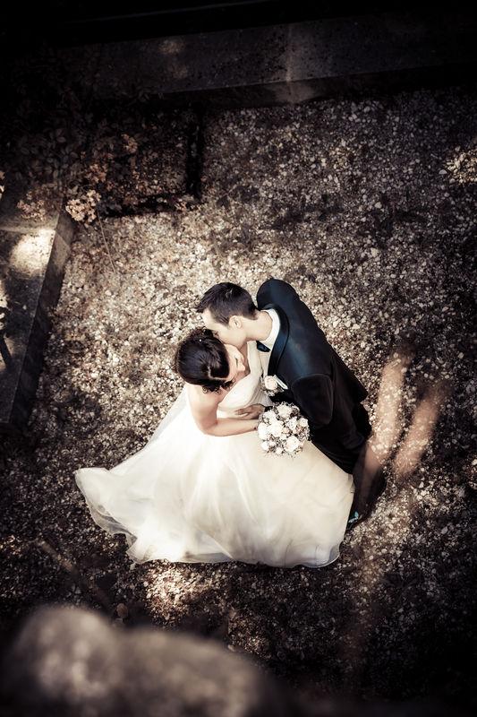 Bildbearbeitung Hochzeit