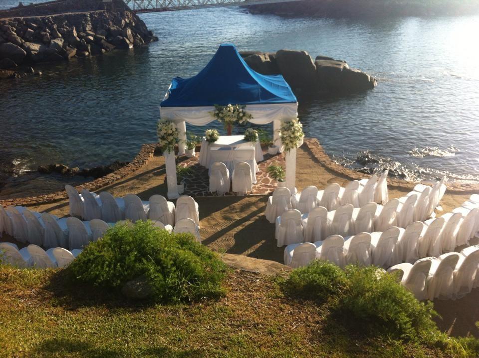 Ceremonia civil en Gazebo Playa con capacidad hasta para 120 personas