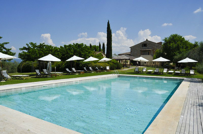 La piscina del Castel Bigozzi