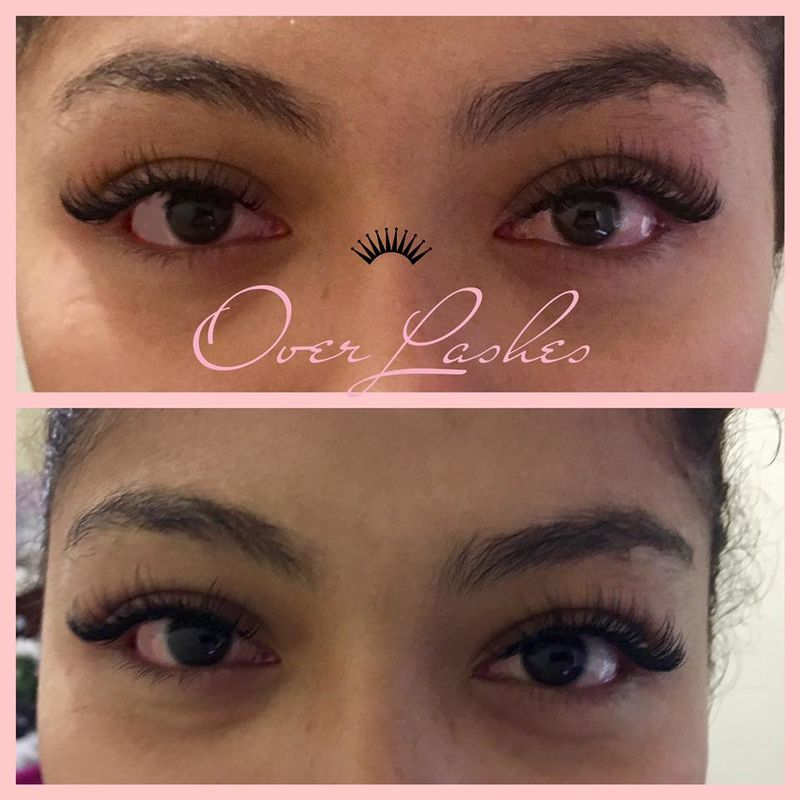 Over Lashes