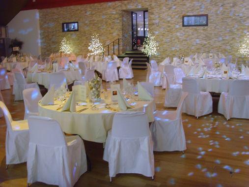 Beispiel: Hochzeitsgedeck, Foto: Parkhotel Langenthal.
