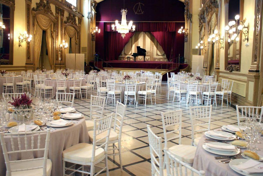 Salón Liceo. Real Círculo de la Amistad.