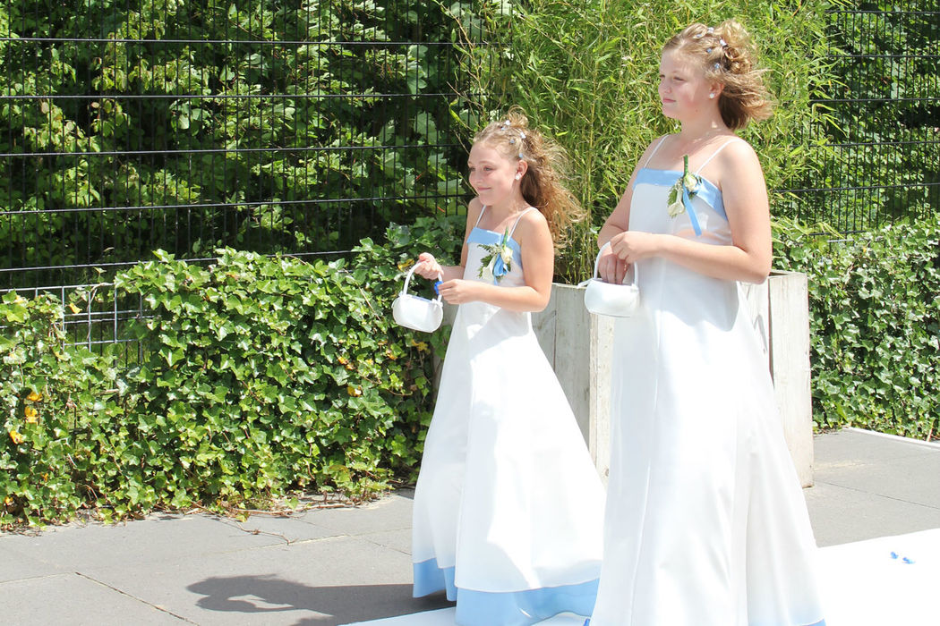 Papa's Beach House, officiële trouwlocatie,  bruidsmeisjes