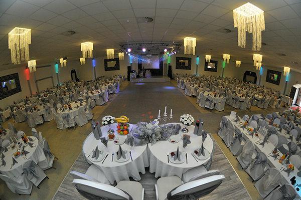 Beispiel: Gesamtansicht - Saal 2, Foto: Elite Event Center.