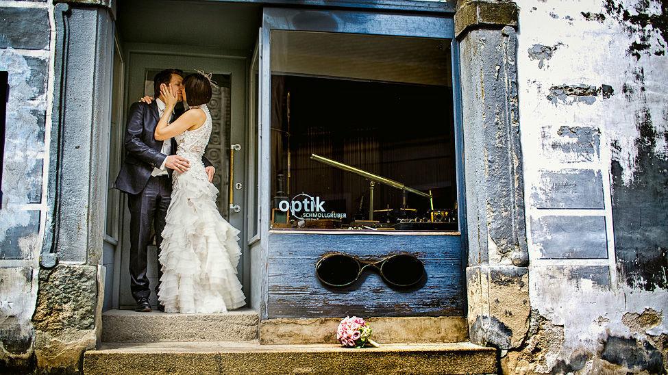 Beispiel: Hochzeitsfotografie, Foto: Markus Schneeberger.