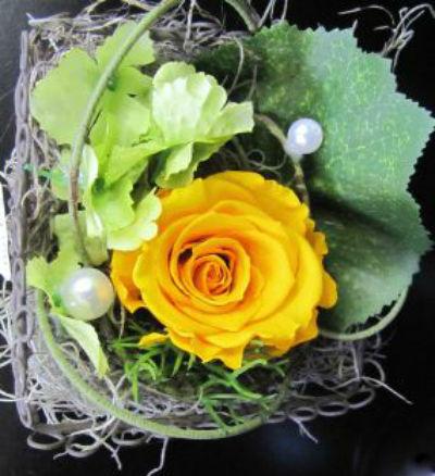 Beispiel: Blumendekoration, Foto: La Fleur.