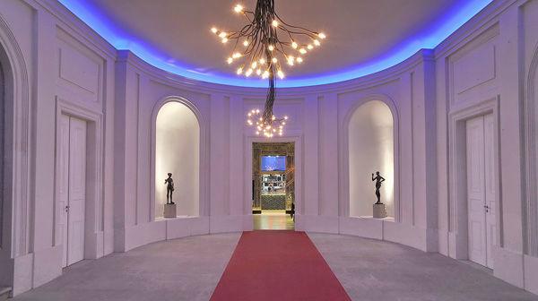 Beispiel: Gartensaal, Foto: Kurländer Palais.