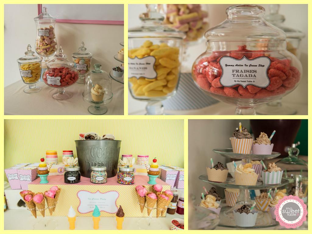 Ma Sweet Table  Location de décoration pour mariage  Vintage  Bohème- & tendance  Herault et Gard Inauguration du Yummy atelier-