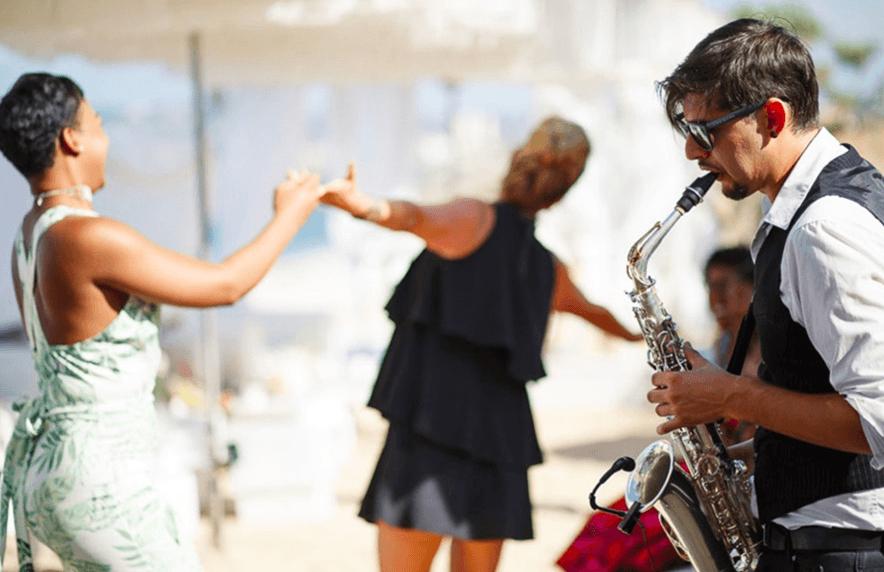 Manu López - Saxofonista