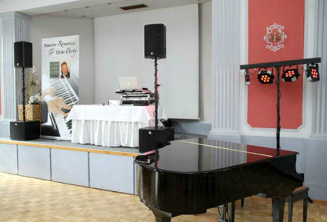 Beispiel: Bereit für den Auftritt, Foto: Pianist & DJ Oliver Kraus.