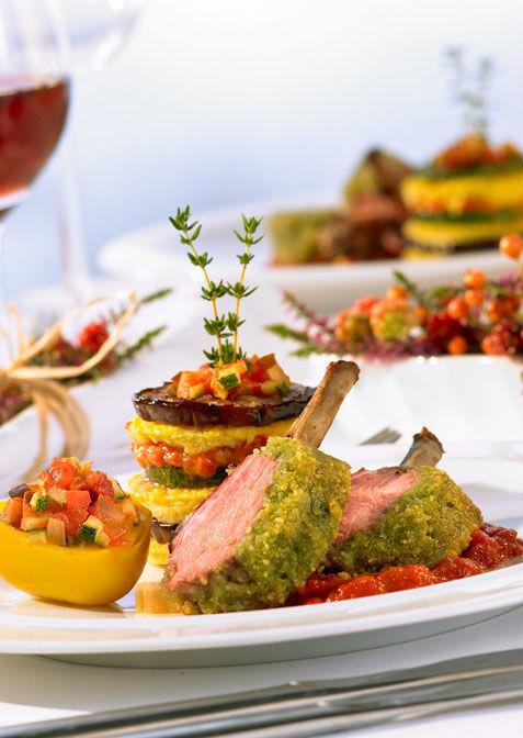 Beispiel: Leckere Speisen, Foto: Henning´s Catering.