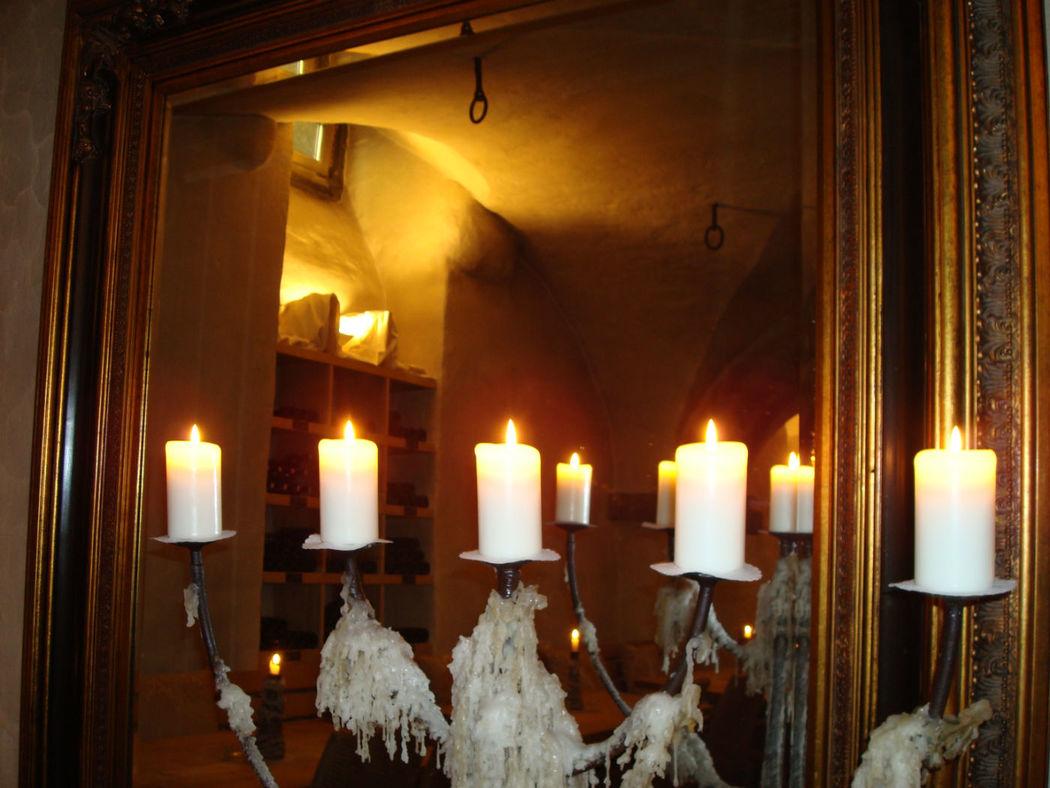 Beispiel: Heiraten bei Kerzenschein, Foto: Hotel Hirschen.