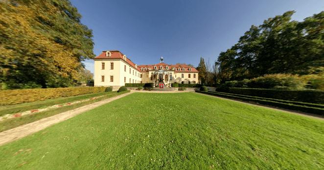 Beispiel: Schlosspark, Foto: Schloss Proschwitz.