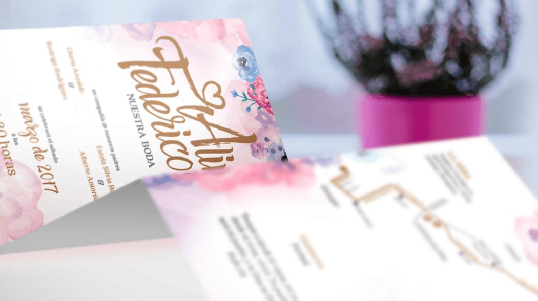 las más bonitas invitaciones de boda inspiradas en historias de amor reales, únicas como la de ustedes dos. ¡Invítalos bonito!