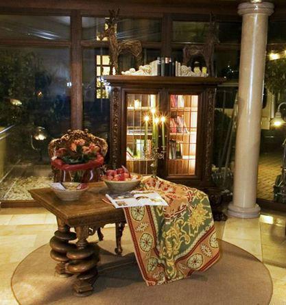 Beispiel: Loungebereich, Foto: Landhaus-Hotel Waitz.