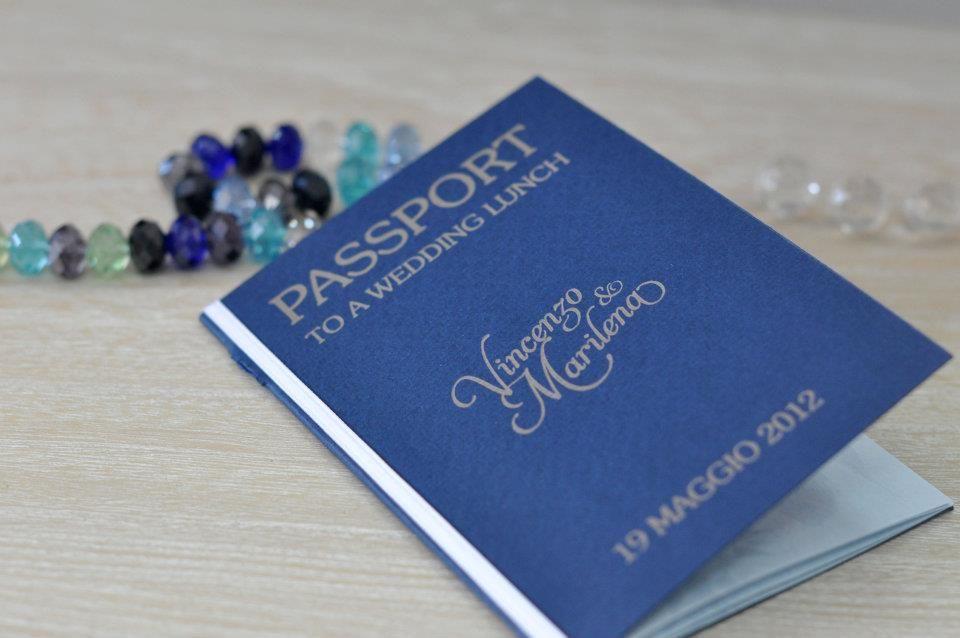 Menù: Passport to a wedding lunch