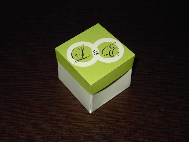 Convite Caixa 5x5x5 - Bodas de Prata
