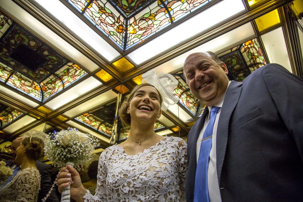 Ascensor - Prepraración de la novia