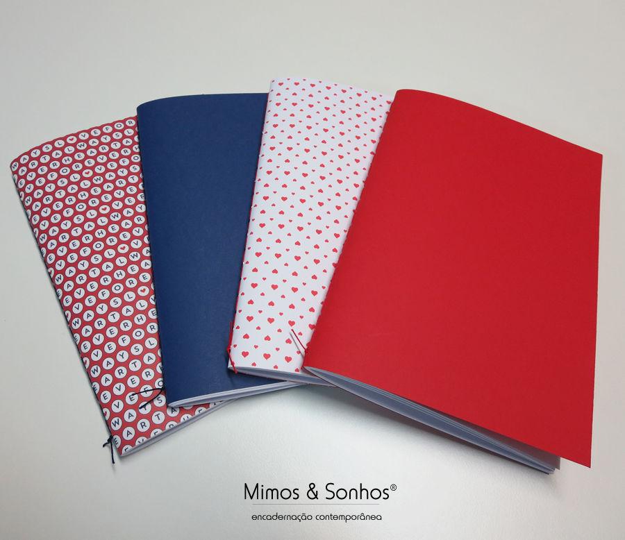 Cadernos.