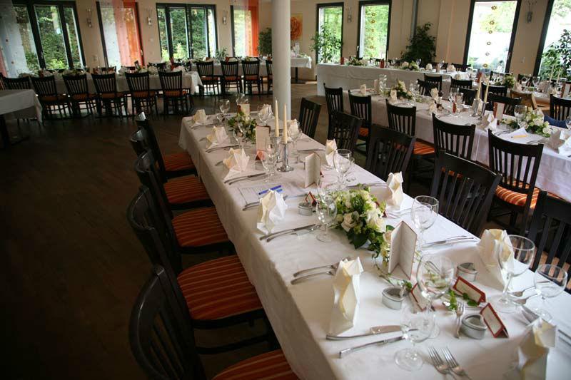 Beispiel: Bankett, Foto: Bio Hotel Bayerischer Wirt.