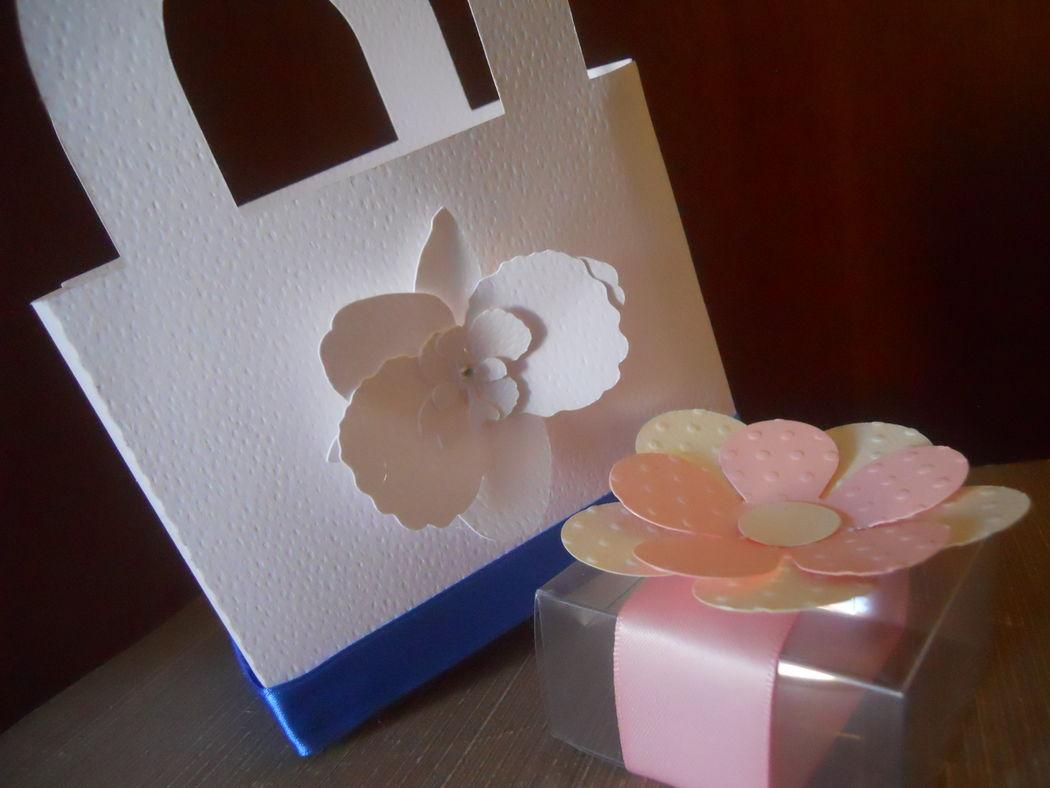 Wedding bag e scatoline porta riso o porta confetti